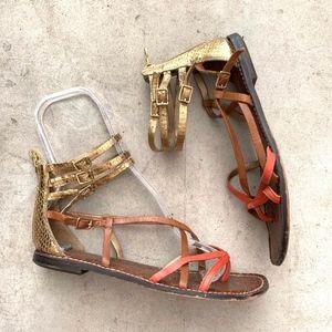 Sam Edelman Gable Gladiator Ankle Strap Sandals